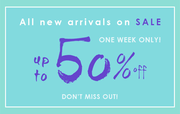 New Arrivals Sale