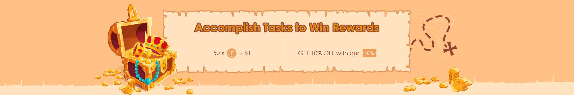 Zaful Accomplish Task Banner