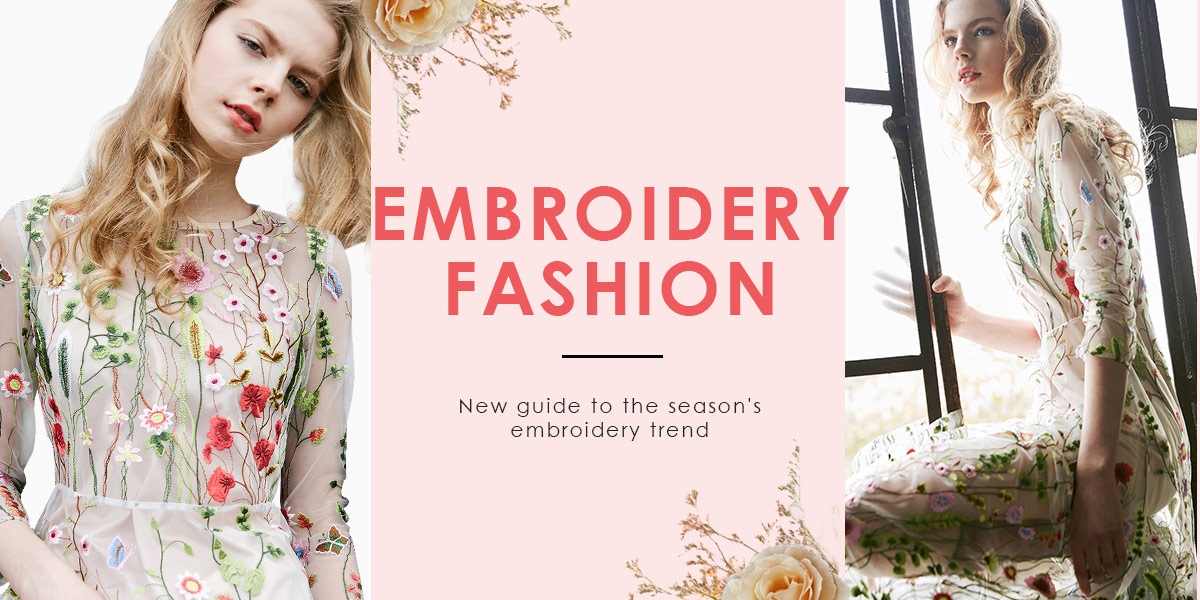 embroidery fashion